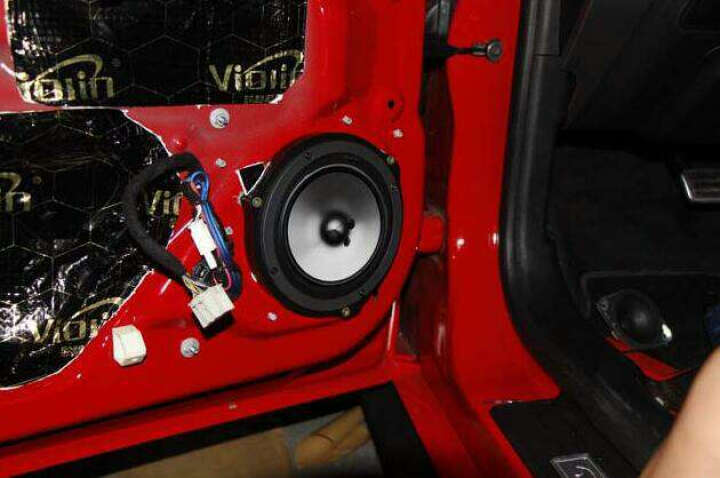 日本歌乐Clarion汽车音响喇叭6.5寸主机直推改装车载套装两分频无损高音头低音炮 前后门喇叭套餐B(含6个喇叭) 晒单图