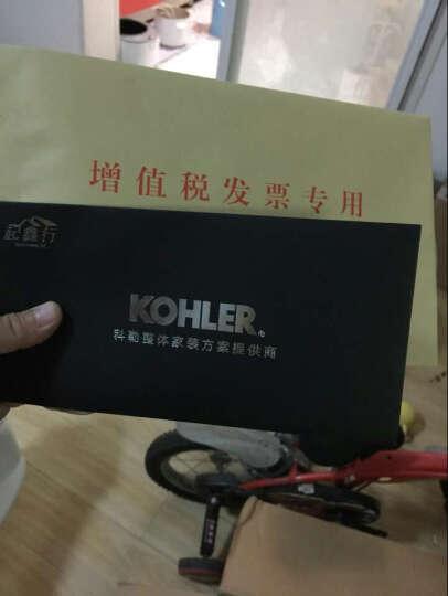 科勒(Kohler) 分体冲水马桶坐便器 五级旋风节水绿能 马桶 K-3831 +77284盖板 300坑距 晒单图