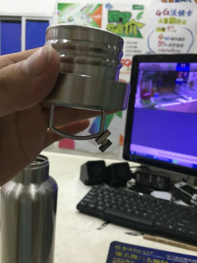贵人阅历304不锈钢真空保温杯男女全不锈钢运动水壶户外运动壶水杯076/077 600毫升 晒单图