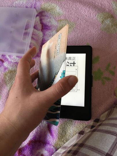 纳图森(Natusun)K5-04适配Kindle 958版保护套/壳Kindle Paperwhite 1/2/3代 电纸书休眠皮套 神奈川冲浪里 晒单图