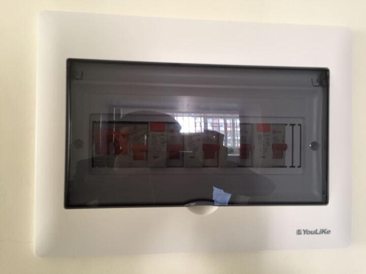 YouLiKe强电箱布线箱电源箱BE10-12回路箱家用照明箱开关箱配电箱 晒单图