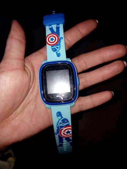 【货到付款】柒客儿童电话手表学生触屏360度智能定位手表手机防水 电信版-蓝色(信号增强+大彩屏非触屏+生活防水) 晒单图