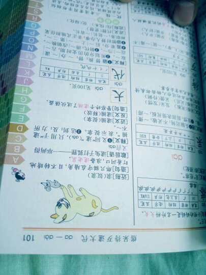 小学生工具书全5册彩色成语词典多功能字典同近反义词组词造句英汉英字典现代汉语 晒单图