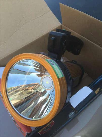 瀚鹰400W强光手电筒 可充电式探照灯 LED远射王1000米户外防水防身防爆手提灯 50w基础版 晒单图