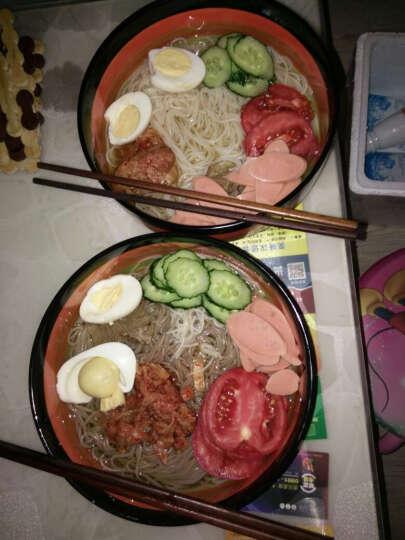 【旅顺馆】韩国冷面带汤料 600g 朝鲜风味东北特产 小麦 晒单图