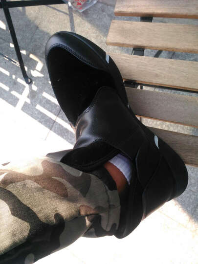 世纪酷站  2017新款棉鞋男冬季雪地靴男鞋高帮防滑防水登山鞋保暖男士棉鞋加绒短靴休闲鞋男 1539H枪色不加绒 39 晒单图