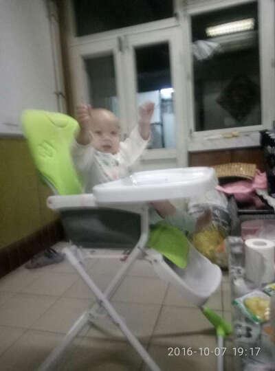 佳田(JUSTIN) 宝宝吃饭轻便折叠餐椅小孩餐椅宜家用餐厅儿童座椅婴儿饭桌椅 iDea绿色 晒单图
