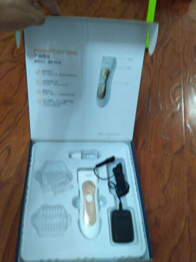易简(yijian) 易简婴儿理发器超静音防水宝宝儿童剃头刀充电宝宝电推剪 G820女宝专用(送理发套装) 晒单图