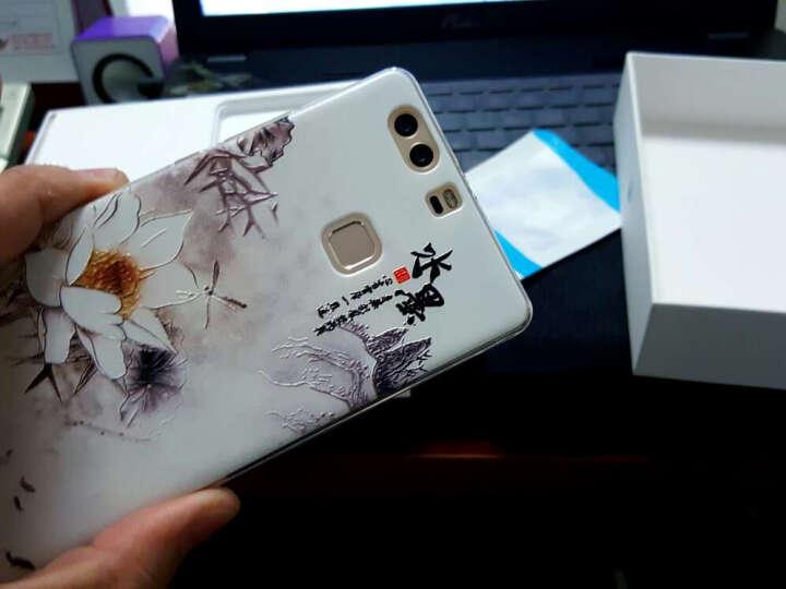 【买三免一】摩梵欧 P9plus手机壳防摔软硅胶浮雕保护套 适用于华为P9Plus 向日葵少女 晒单图
