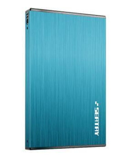 硕力泰(SEATAY)HDAS6250-R 2.5英寸USB3.0移动硬盘盒 SATA接口 支持SSD和机械硬盘 航空铝合金拉丝面板 红 晒单图