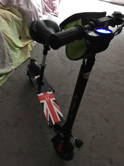 升特shengte电动滑板车 可折叠迷你休闲电动车 锂电城市电瓶车 便携代步车 前后双减震  续航30-40km 晒单图