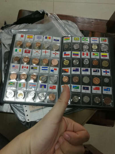 广发藏品 外国钱币 120国60国(地区)世界硬币大全套硬币册 生日礼物 创意钱币礼品 120国/地区 套 晒单图