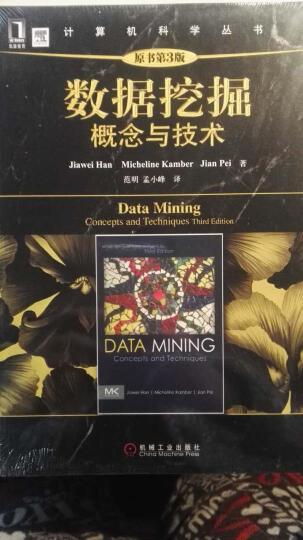 数据挖掘:概念与技术(原书第3版)数据挖掘分析教材 数据挖掘概念与技术 大数据挖掘参考教材 晒单图