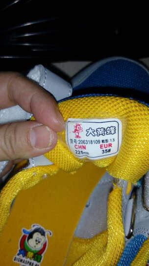 大黄蜂 BIG WASP 男女童运动鞋 儿童跑步鞋透气耐磨阿甘鞋 206318109 蓝红-37码 晒单图