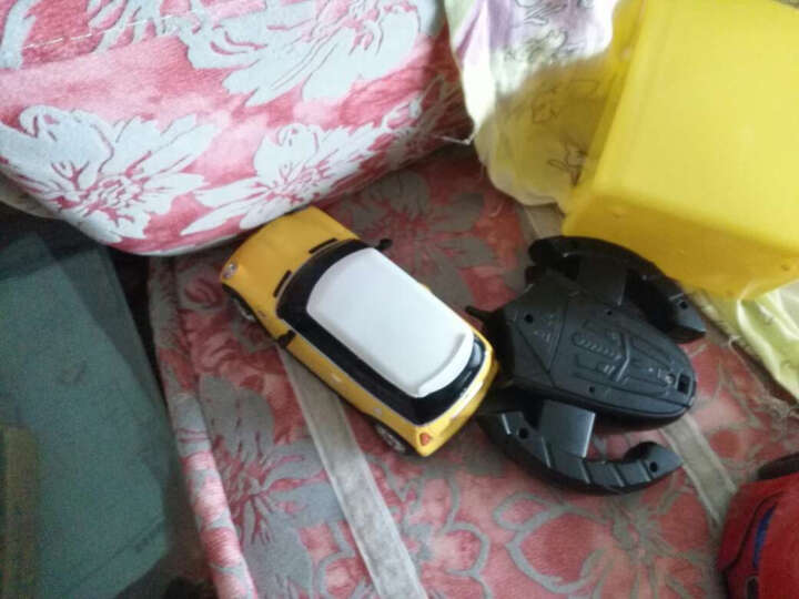 星辉(Rastar)遥控车 1:24 宝马Mini Cooper S遥控车模 15000 黄色 晒单图