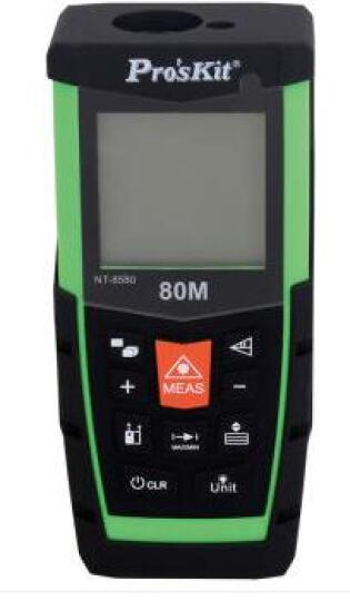 宝工(Pro'sKit)NT-85系列高精度激光测距仪40/60/80米手持式红外线测量仪电子量房尺 晒单图