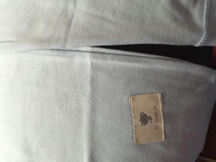 俞兆林春秋儿童纯棉内衣套装男女童秋衣裤2件套 肩扣标签小树苗-粉红 73CM 晒单图