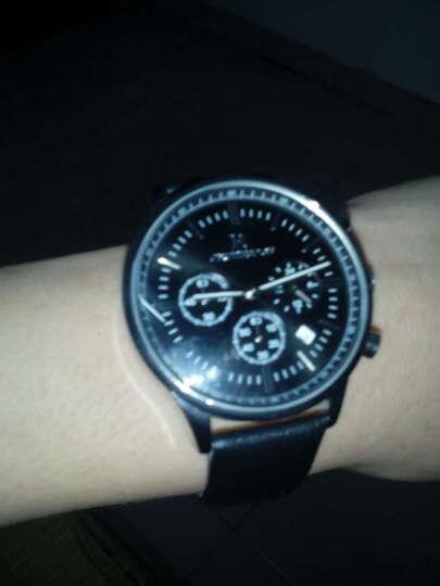 瑞之缘手表男皮带手表防水商务男士手表腕表石英表