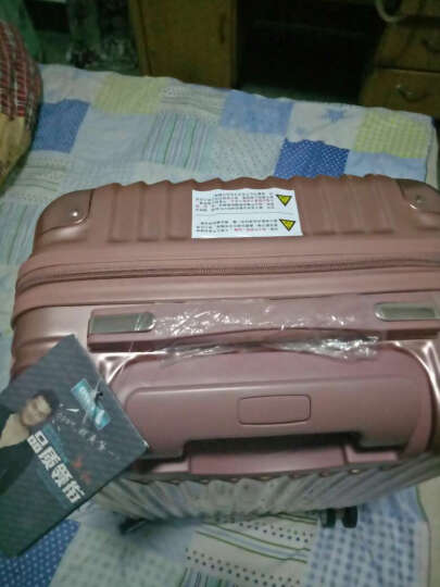 osdy拉杆箱行李箱万向轮男女旅行箱配色 A929拉链紫色 24吋国内旅游5至9天1人行 晒单图