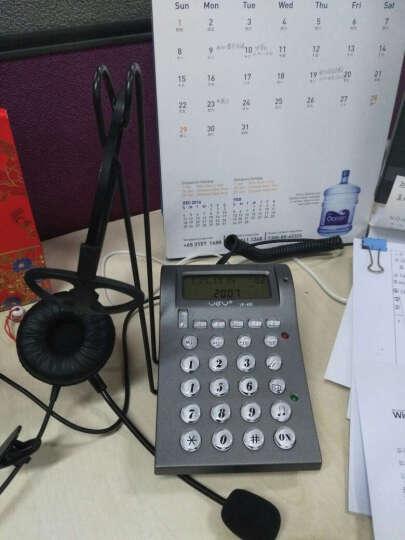 亚尔亚(YEY)VE400 呼叫中心话务员专用 电话机,耳机电话 晒单图