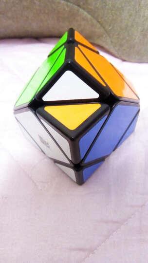 yj魔域三阶异形魔方3阶比赛专用斜转金字塔五魔方