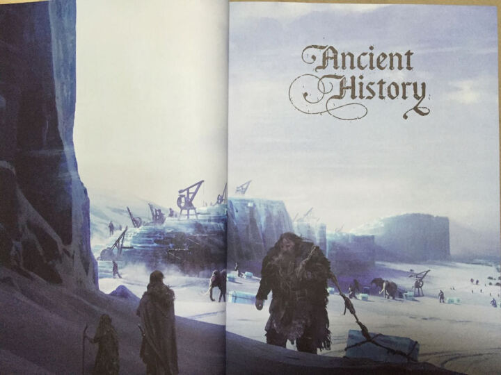 The World of Ice&Fire The Untold History of Westeros and the Game of Thrones冰与火的世界 权利的游戏中维斯特洛的未知历史 晒单图