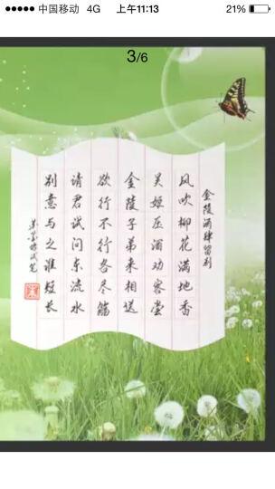 苏墨坊硬笔书法纸田字格钢笔练习作品创作纸学生卡通比赛用纸信笺A4套装T1 货号144 晒单图