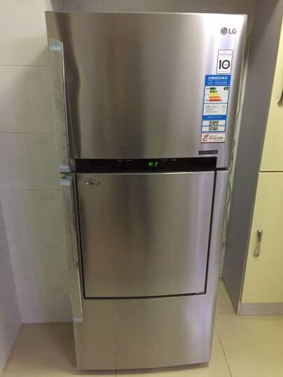 LG 411升 典雅欧式门中门设计 风冷无霜 变频两门冰箱 钛空银 BCD-411WK(GR-D432HSAN) 晒单图