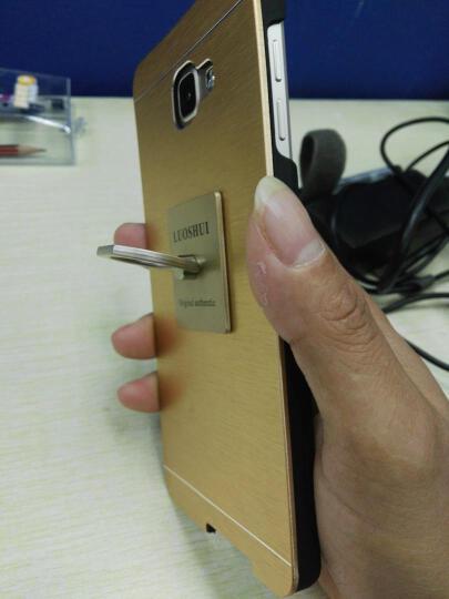 三星 Galaxy A9 (SM-A9100) 移动联通电信 4G手机 魔幻金 全网通4G(4GB RAM+32GB ROM)标配 晒单图