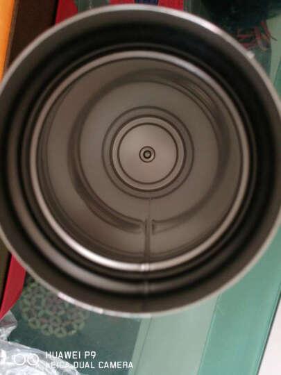 睿驰车载电热水杯汽车加热杯烧水壶12/24V通用不锈钢无线遥控智能杯真空保温杯 本色款 晒单图