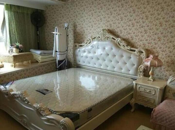 同人部落家具欧式床法式真皮双人床实木婚床高箱床