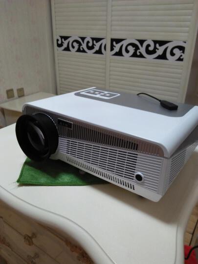 轰天炮LED-86+ 投影仪 家用 智能家庭影院高清投影机 白色86+智能wifi版套餐四 晒单图