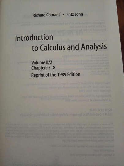 微积分和数学分析引论(第2卷)(第2册) 晒单图