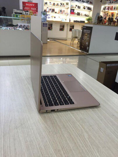 联想(Lenovo)YOGA710 14.0英寸超轻薄触控笔记本电脑(i7-7500U 8G 256GSSD 2G独显 全高清IPS 360°翻转 )金 晒单图
