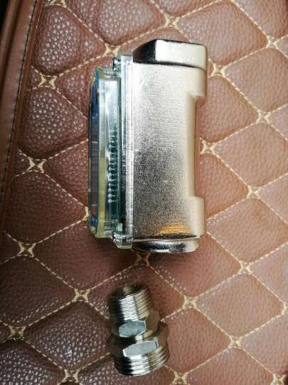 CDI 047 电子流量计 6分1寸1.5寸进口 汽油柴油煤油甲醇流量计 高精度计量 6分进口 晒单图