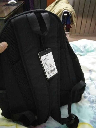 梵瑞恩 双肩包男 男士背包韩版潮女大高中学生书包商务休闲多功能电脑包大容量旅行包 1012黑色侧袋版大款 晒单图