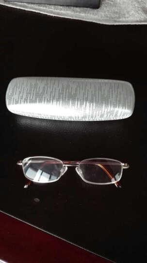 田崎TASAKI老花镜男款轻便高清折叠老人眼镜女款老花镜 折叠款300度 晒单图