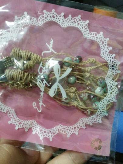 景德镇陶瓷手链 糖果色瓷珠编织手链 情侣款 颜色釉瓷珠手链 彩釉珠 晒单图