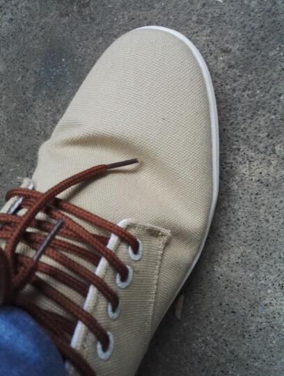 回力男鞋帆布鞋春秋款纯色休闲鞋韩版低帮板鞋透气学生鞋 logo款蓝色 41 晒单图