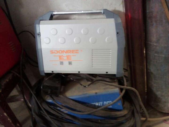 松勒电焊机ZX7-250S 315S家用220v 380v双电压两用全自动小型全铜芯迷你直流家用焊机 315S 旗舰款双电压 套一 晒单图