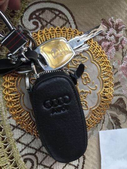 适用于奥迪钥匙包套真皮A6LQ3Q5Q7 A3A5A7S3TTA8LA4L汽车用钥匙包壳扣 奥迪智能款夜光款活力橙 奥迪A1A3A4A6LQ3Q7TTS3R8 晒单图