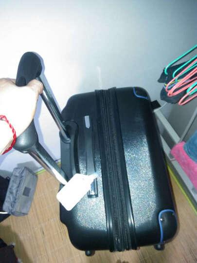波米拉杆箱万向轮旅行箱男女行李箱24英寸26英寸28英寸登机密码箱20英寸 磨砂黑色带扩展 26英寸 晒单图