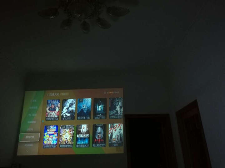 tumetimes图美X6手机投影仪家用迷你投影机1080p智能wifi高清便携3D家庭电视商务投影 标配(接电脑/U盘/HDMI) 晒单图