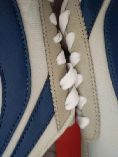 李宁休闲鞋男子秋冬款透气运动鞋复古3K慢跑鞋ALKJ027 ALKJ027-4浊普蓝/亮茄红/白 39.5 晒单图