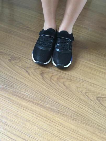 特能仔(TE NENG ZAI) 特能仔童鞋儿童运动鞋男童网鞋透气小孩鞋女童休闲鞋跑步鞋 运动款-黑色 32/内长20.8CM 晒单图