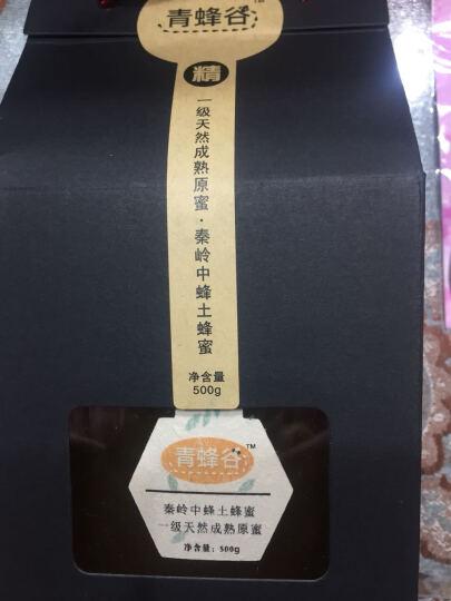 青蜂谷 秦岭野生中蜂土蜂蜜500g 精品系列野生天然成熟原蜜 晒单图