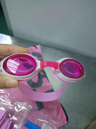 羽克(Yuke) 羽克 儿童泳镜 女童男童防水防雾游泳眼镜 星星卡通游泳镜 潜水镜YK1700-泳镜 红色 晒单图