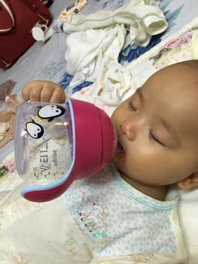 飞利浦新安怡水杯卡通企鹅杯宝宝学饮杯婴儿鸭嘴饮水杯 蓝色小蟹260ml 晒单图