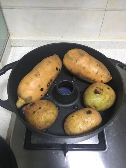 相府壹品泽州铁器厨具 大烤薯锅 烤红薯烤玉米烤肉生铁锅 升级款大容量 锅口直径26 晒单图