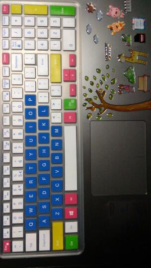 广丰源 笔记本电脑贴纸 15.6 14英寸通用外壳炫彩保护贴膜 无残胶防水防刮 外壳贴 -黑钢琴 14英寸 晒单图